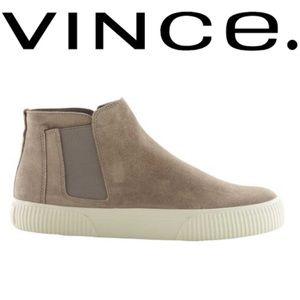 Vince Kelowna Suede High Top Sneakers Sz6.5